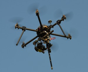 Drone carbone